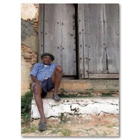 Αφίσα (Κούβα, πόλη, άνθρωπος, φτωχός, houde)
